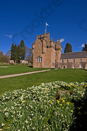 Crathes Castle Spring qax0785jhp 