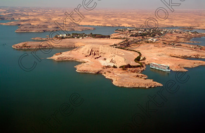 Abu Simbel Aerial View EG02BE24JHP 