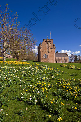 Crathes Castle Spring qax0777jhp 